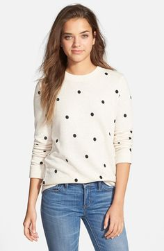 Free shipping and returns on Stem Polka Dot Sweatshirt at Nordstrom.com. Graphic polka dots sweeten the classic silhouette of a crewneck sweatshirt cut from a cotton blend.