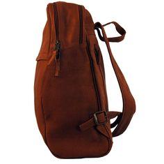 leather backpack - mochila de cuero 45x30x13