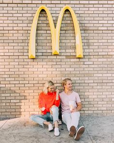 """Parker Ferris on Instagram: """"We find ourselves celebrating big moments with @mcdonalds! We came here after getting the keys to our new house and after getting our…"""""""