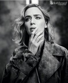 Emily Blunt, photographed by David Needleman