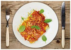 Zucchini-Cannelloni verfeinert mit Ricotta und Pecorino