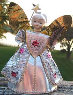 Check out angel Christmas tree ornament porcelain head gold foil wings 1950s vintage  http://www.ebay.com/itm/angel-Christmas-tree-ornament-porcelain-head-gold-foil-wings-1950s-vintage-/151068361192?roken=cUgayN&soutkn=hl680k via @eBay