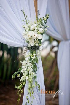 Wedding Ceremony Canopy on Wedding Ceremony Flowers Wedding Flowers Maleny Noosa Sunshine