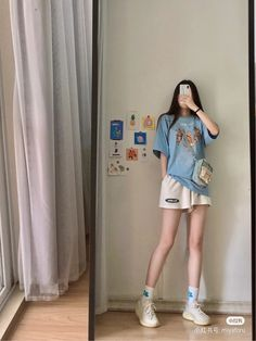 Korean Girl Fashion, Ulzzang Fashion, Korean Street Fashion, Kpop Fashion Outfits, Tomboy Fashion, Look Fashion, Korean Casual Outfits, Korean Outfit Street Styles, Cute Casual Outfits