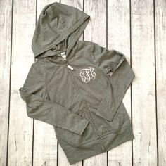 Youth Monogram Hoodie for Girls | Gentry California | $28 | Click link to shop: http://www.gentrycalifornia.com/collections/fall2016kids/products/youth-monogram-hoodie-for-girls