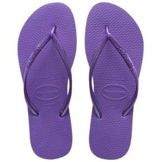 9ea1c5623 Havaianas Slim Brazil Women s Flip Flops Purple Size 6w US 37 38 EU for  sale online