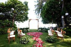 ハワイウェディングプランナーのお仕事ブログ Wedding Scenes