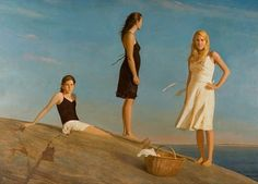 "Contemporary Art - Bo Bartlett Fine Artist ""The Daughters"""