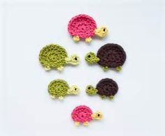 Free Crochet Pattern Turtle Applique From The Animals Pictures