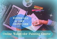 Get Started with Online Learning + get 20%OFF original price in my Spreesy store    YOUR COUPON CODEhttp://walking-on-watercolor-clouds-watercolor-painting-course.teachable.com/p/watercolor-course-painting-portraits-advanced-level/?product_id=236714&coupon_code=20REDUCE    This online course will explain how you can study online without putting the rest of your life on hold.    Portrait painting course    In this course you will learn how to observe anatomy of human face and how to show…