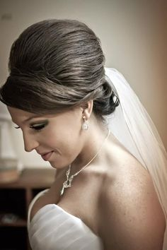Charmed by Tonya - Houston-area Hair and Makeup - Wedding day bouffant updo