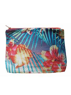 New Tropical Collage pouch - Shop Samudra