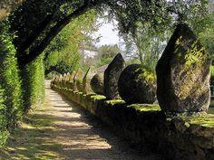 Jardines del Pazo de Oca. Galicia. Spain.