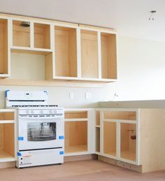 Ana White Build a 6 8243 Filler Tray Base Cabin Kitchen Cabinets And Backsplash, Building Kitchen Cabinets, White Kitchen Cabinets, Diy Cabinets, Base Cabinets, Plywood Cabinets, Ikea Kitchen, Ana White, Diy Kitchen Projects