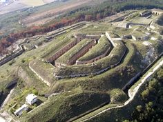 The Fort of San Cristobal or Fort Alfonso XII is another of these beautiful places to visit in Spain. The fort is an awesome military strength built inside the mountain Ezcaba, a few miles away Pamplona.