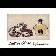 Paul Poiret - Nuit de Chine, parfum de Rosine (circa 1920)