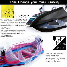 AQROS Diving and Snorkeling | Rakuten Global Market: Hele i Waho Mask Strap Cover for Scuba diving, Snorkeling and Skin diving