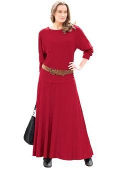 Amazon.com: Jessica London Women's Plus Size Skirt Set In Stretch Jersey: Clothing