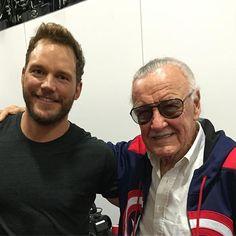 Chris Pratt's Instagram:Me and Stan Lee.  I mean.... CMON!!!!! #comiccon  #comics #guardiansofthegalaxy