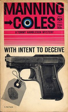 With Intent to Deceive, book cover, ©1947 / Design: S. Neil Fujita