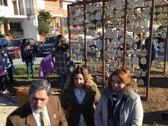 El municipio de Alcaudete dedica una escultura a las víctimas de la violencia de género