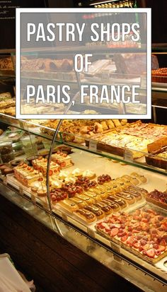 Who loves French pastries? Here's where to find them in Paris.
