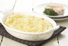 Een overheerlijke gegratineerde aardappelpuree, die maak je met dit recept. Smakelijk!