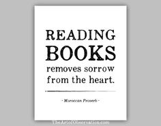 Reading Books Quote print typography by theartofobservation, $12.00