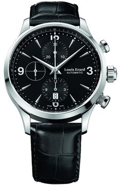 Louis Erard 1931 Collection Swiss Automatic Black Dial Men's Watch 78225AA02.BDC02