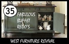 West Furniture Revival: 35 BEAUT-IOUS BUFFETS