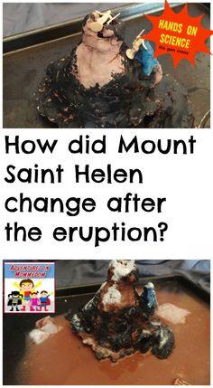 How did Mount Saint Helen change after the eruption