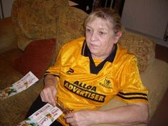 Who new Trish was an Alloa Athletic fan?