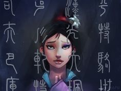 Mulan by sgfw on deviantART