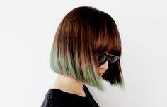 new Ideas hair ombre brown bob dip dye Dip Dye Hair, Dyed Hair, Dip Dye Bob, Dip Dyed, Natural Hair Styles, Short Hair Styles, Pretty Hair Color, Crazy Hair, Love Hair