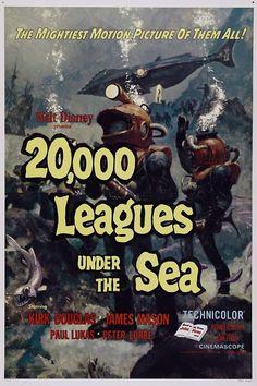 20,000 Leagues Under The Sea (1954) Kirk Douglas, James Mason, Paul Lukas, Peter Lorre