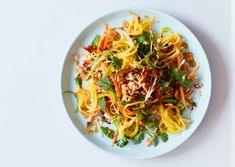 Burmese mango, peanut and lime salad (Tayat thi toke) recipe Lime Salad Recipes, Burmese Food, Burmese Recipes, Green Mango Salad, Ottolenghi Recipes, Vegetarian Recipes, Cooking Recipes, What's Cooking, Essen