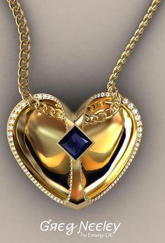 Emmy DE * necklace by Greg Neeley