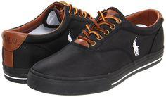 Polo Ralph Lauren Vaughn (Black Nylon) - Men's Shoes