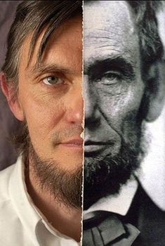Ralph Lincoln is a direct descendant of Abraham Lincoln, and this image can prove it.