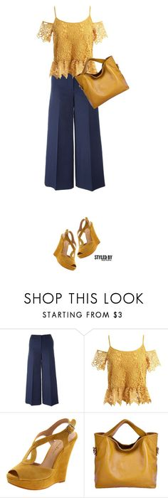 """""""Cold Shoulder"""" by marion-fashionista-diva-miller ❤ liked on Polyvore featuring Sonia Rykiel, Sans Souci and Diavolina"""