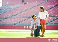 Now for my pro football player husband Football Engagement Pictures, Football Pictures, Fall Engagement, Engagement Couple, Prom Photos, Prom Pictures, Couple Pictures, Wedding Photos, Prom Pics