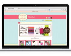 Mommy & Company website design and development by The Savvy Socialista.