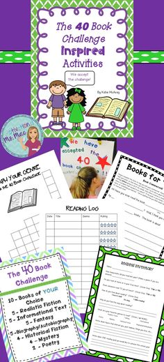 Reading inventory, book commercial, reading log, graphing books, and words for classroom acceptance sign. Grade 3, Third Grade, Reading Inventory, 40 Book Challenge, Book Whisperer, Reading Motivation, Reading Strategies, Acceptance, Teacher Stuff