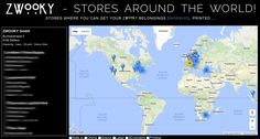 ZWOOKY - Stores around the world. Get your ZWOOKY printed, engraved, lasered on many things