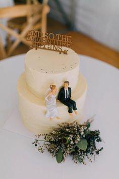 20 Elegant Wedding Cakes To Get Inspired | http://www.deerpearlflowers.com/20-elegant-wedding-cakes-to-get-inspired/