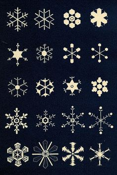 snowflake-5 by Public Domain Review, via Flickr
