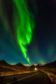 Aurora Borealis in Hörgárdalur