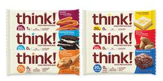 think!® | High Protein Bars Variety Pack | FREE 1-3 Day Delivery | Chunky Peanut Butter, Creamy Peanut Butter, High Protein Bars, New Flavour, Pop Tarts, Caramel, Snack Recipes, Edible Creations, Peanut Butter Brownies