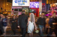 Las Vegas Wedding Photographers, Las Vegas Event Photographers, Exceed Photography, Las Vegas Strip  Wedding Photos
