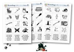 Le mot et l'image nouvelles fiches : une année d'exercices sur les sons